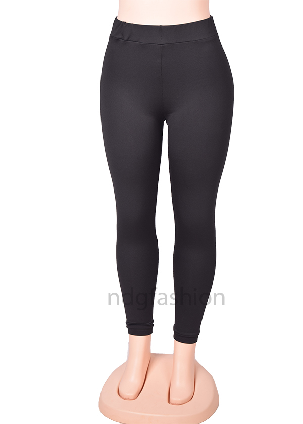 4. Black, full leggings-front-ndg-fashion